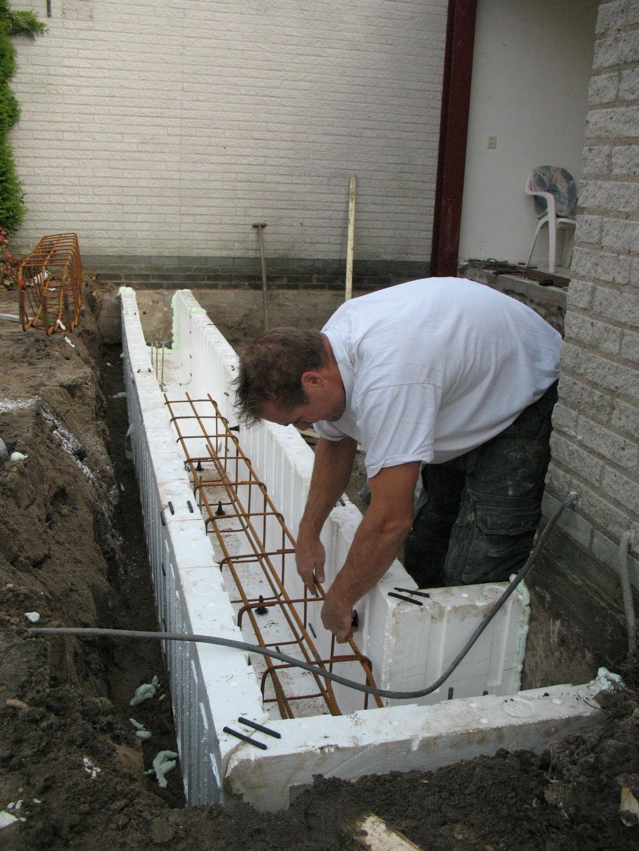 Verbouwingen-funderingsstrook-heipalen