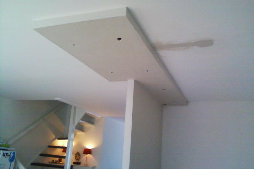 Stukadoorswerk-verlaagd plafond